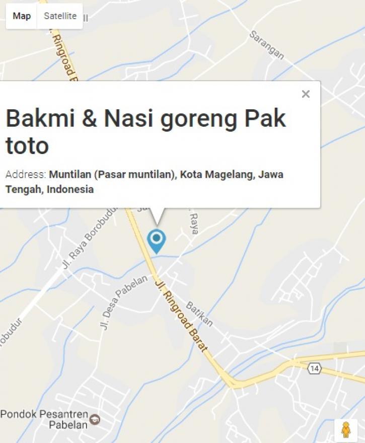 Image : Bakmi jawa Pak Toto Uenak loo