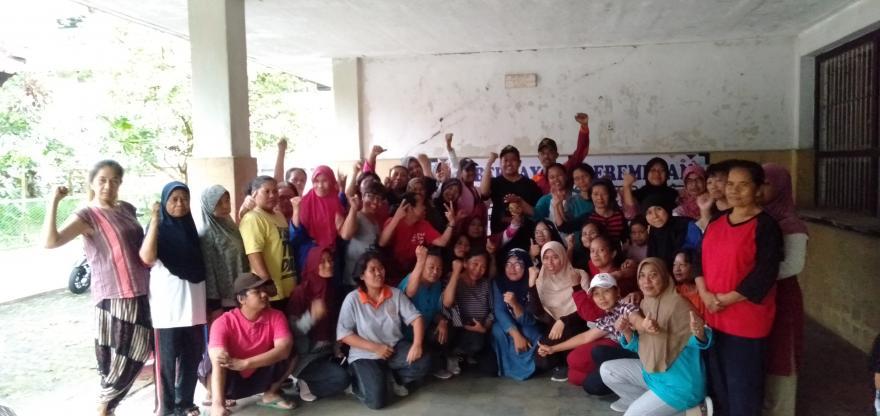 Image : Pelatihan Pemberdayaan Perempuan Senam Wanita